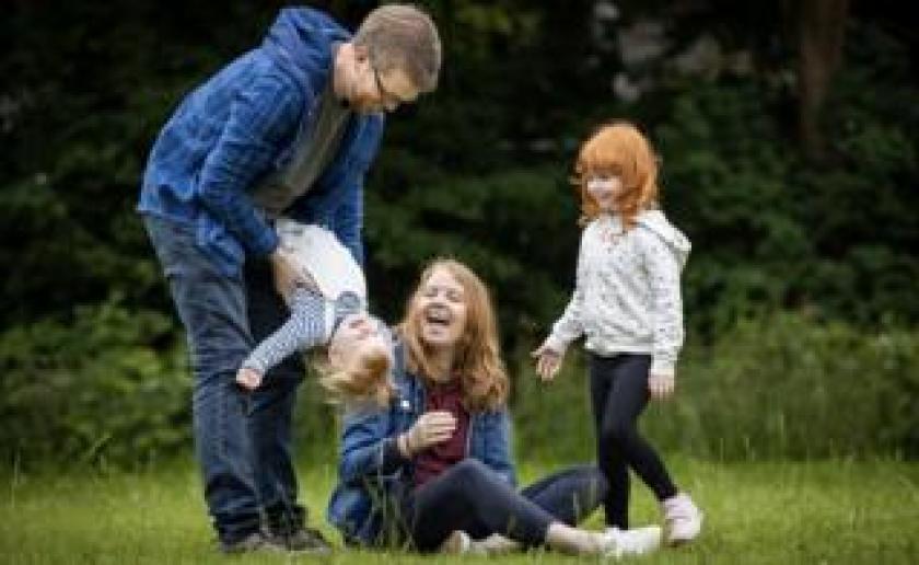 Helen Calder and family