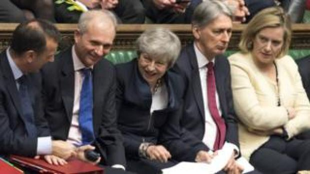 Theresa May and ministers