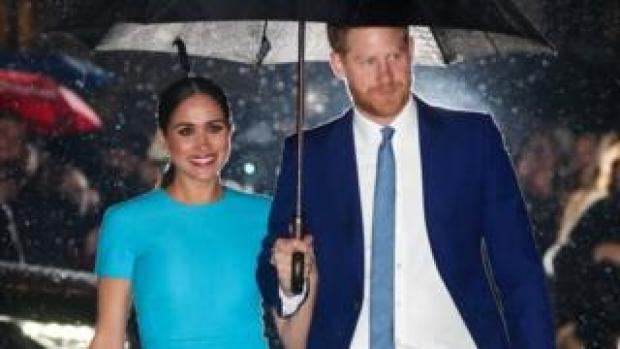 Prince Harry and Meghan in March