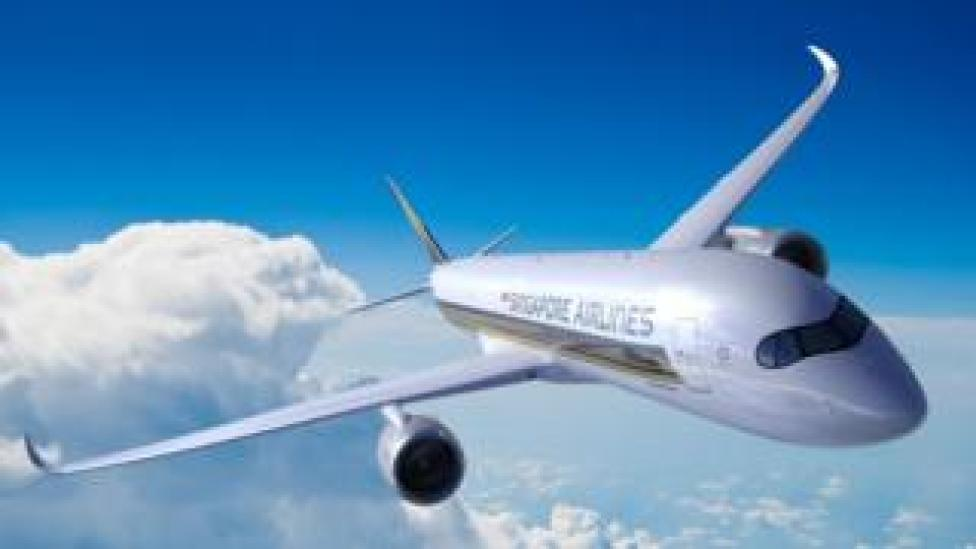 NEWS Singapore Airlines will be the first to offer flights on Airbus' A350-900 ULR aircraft in October