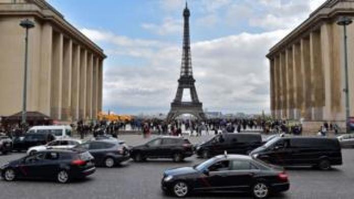 Cars in Paris