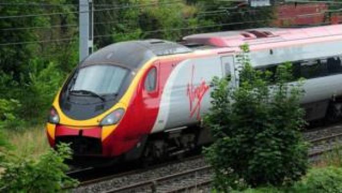 Train vierge