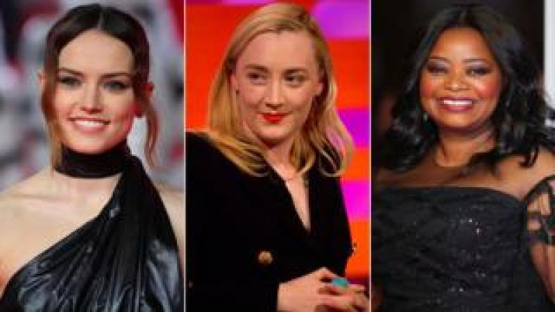 Daisy Ridley, Saoirse Ronan and Octavia Spencer