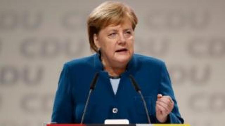 Bundeskanzlerin Merkel auf dem CDU-Kongress, 7. Dezember 18