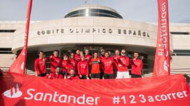 The incident happened in the Santander Triathalon last weekend