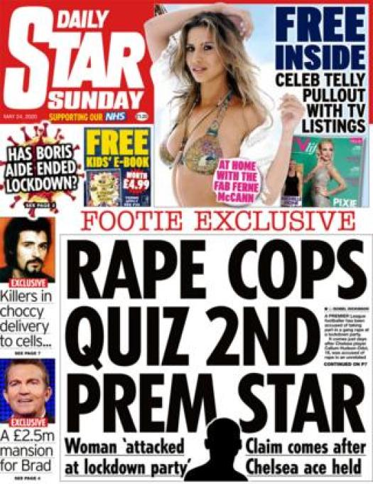 The Daily Star front page 24 May