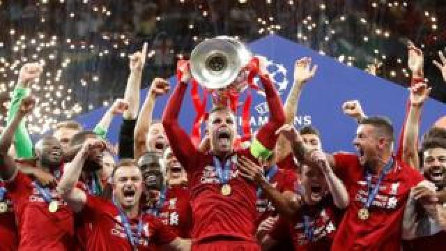 Liverpool win the Champions League