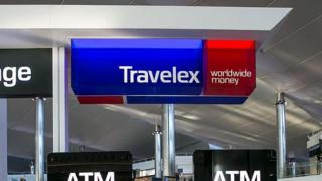 Travelex sign