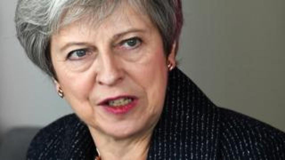 NEWS Theresa May