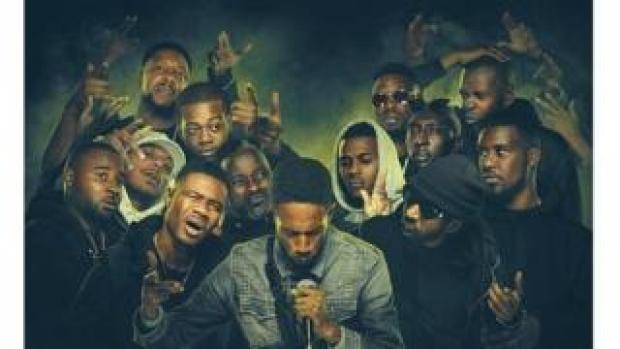 Picture of grime artists that feature in the film