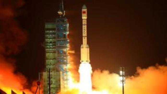 Chinese Long March 2F rocket