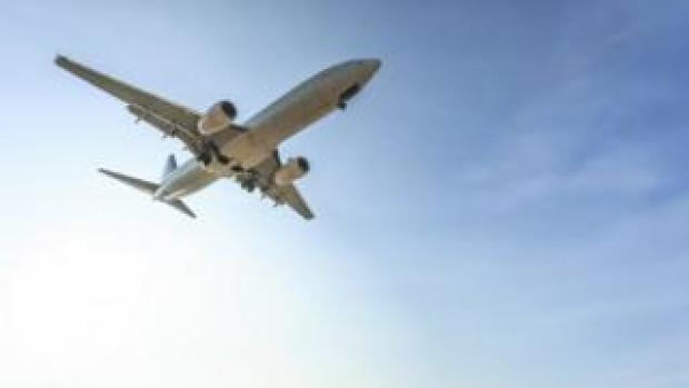 An aeroplane