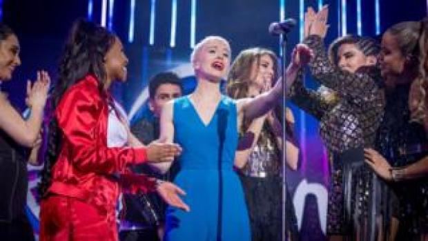 Surie at Eurovision: You Decide in 2018