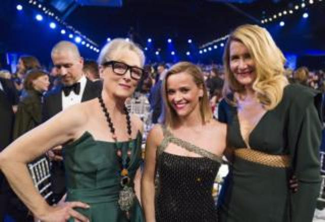 Meryl Streep, Reese Witherspoon and Laura Dern