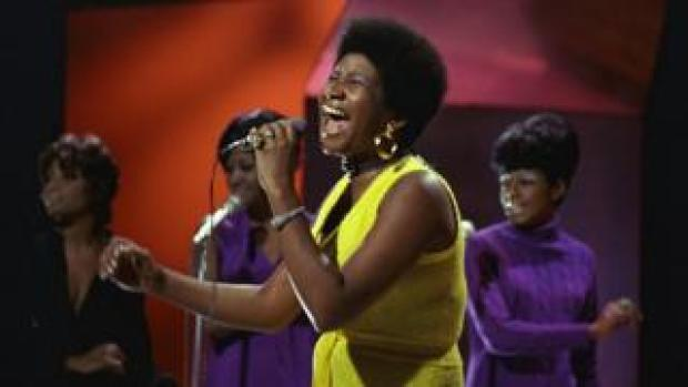 TOP OF THE POPS photo of Aretha FRANKLIN