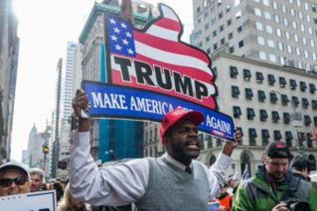 Black Trump supporter