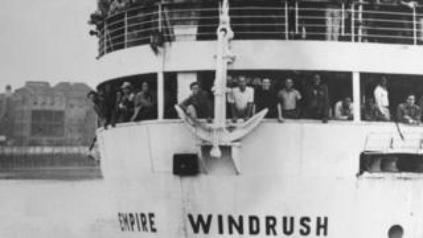 The ex-troopship