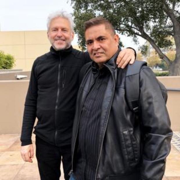 Lennard Davis and Lance Tauoa meet, 2018