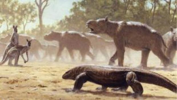 Artwork: Diprotodon