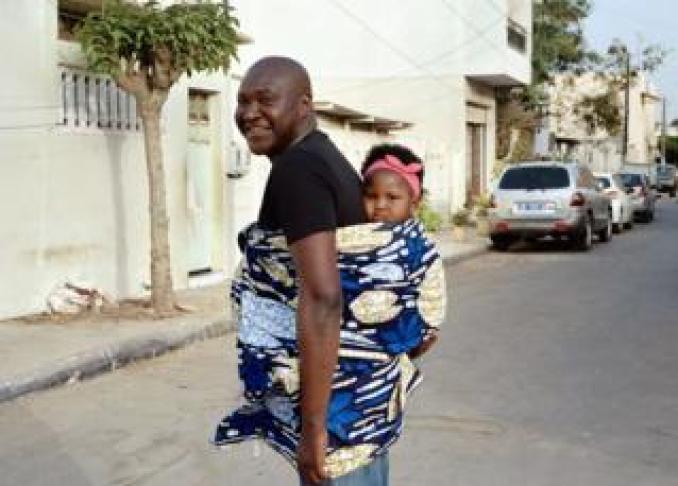 Jules and Jade in Zone B, a central neighbourhood in Dakar, Senegal