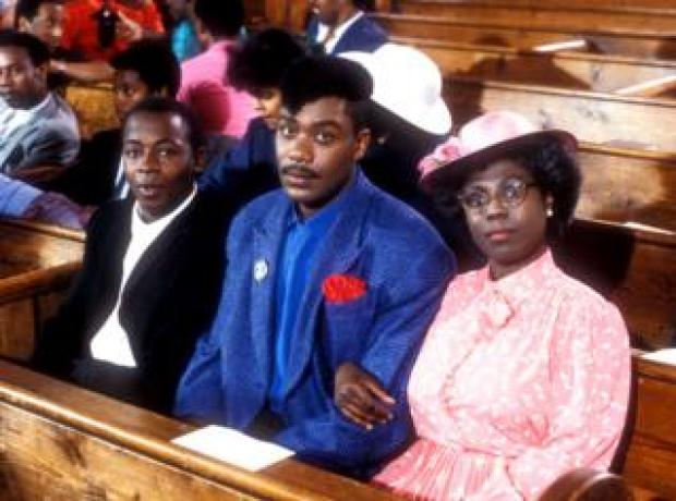 Lenny Henry as Delbert Wilkins on the Lenny Henry Show