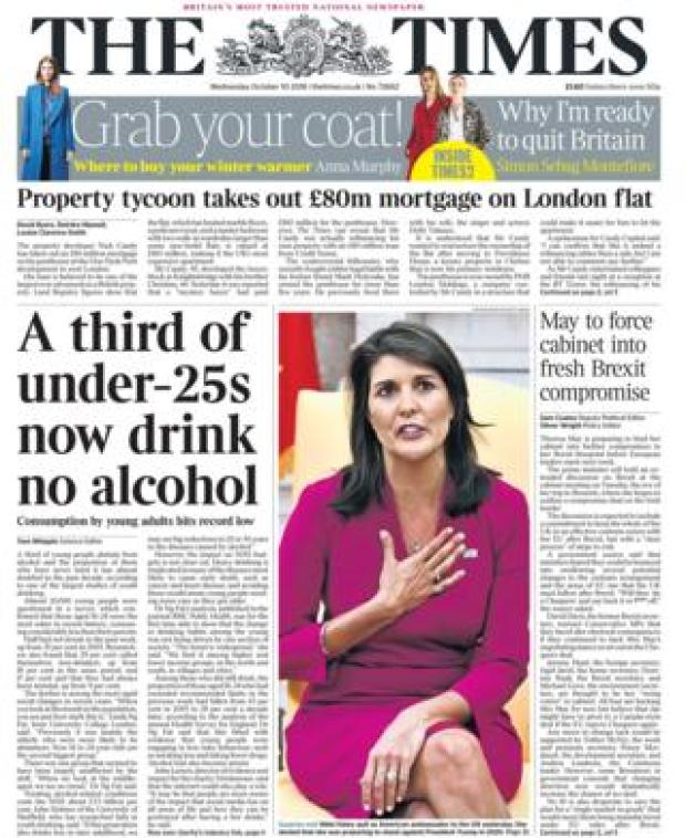 Times - 10 October