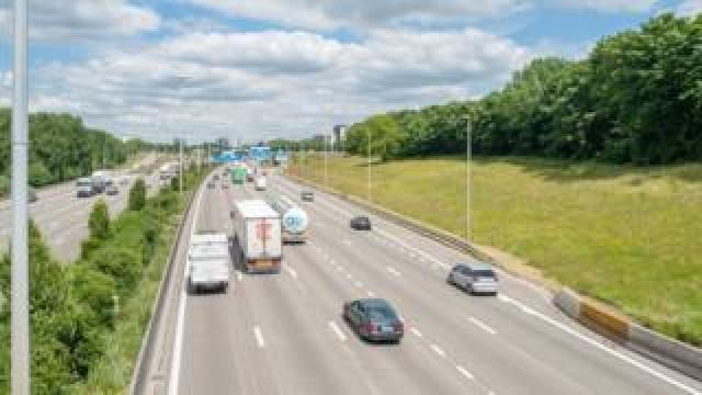 A motorway in Belgium (file image)