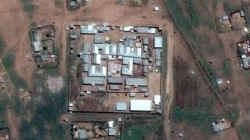 Satellite image of Jail Ogaden