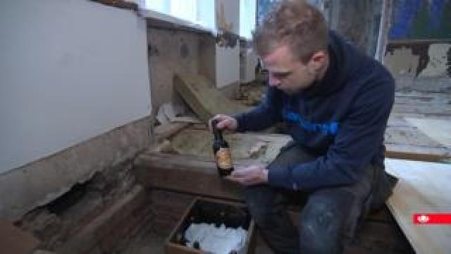 Old beer found at Danish brewery