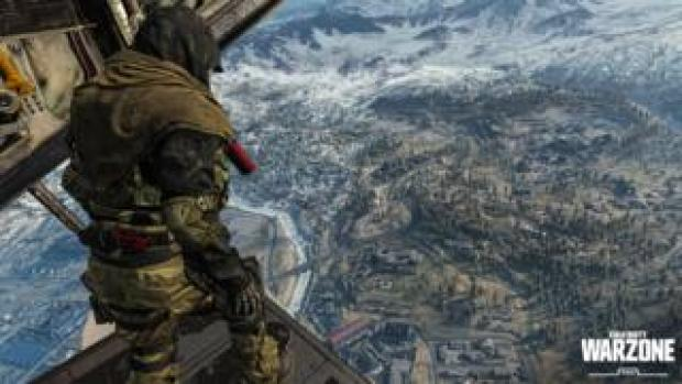 Image shows a screen grab from Call of Duty: Warzone