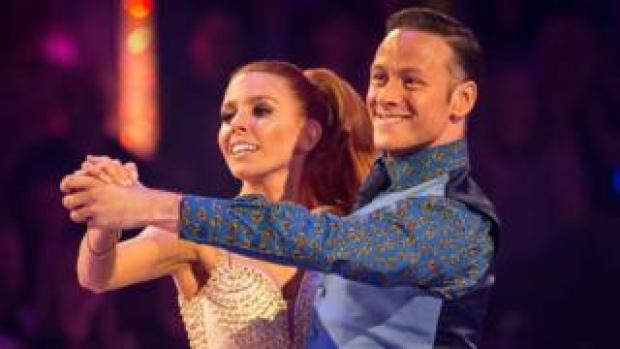 Kevin Clifton and Stacey Dooley