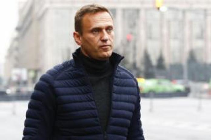 Russian opposition leader Alexei Navalny, in Moscow, September 29, 2019