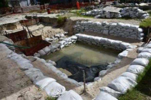 Battle of Tarawa graves