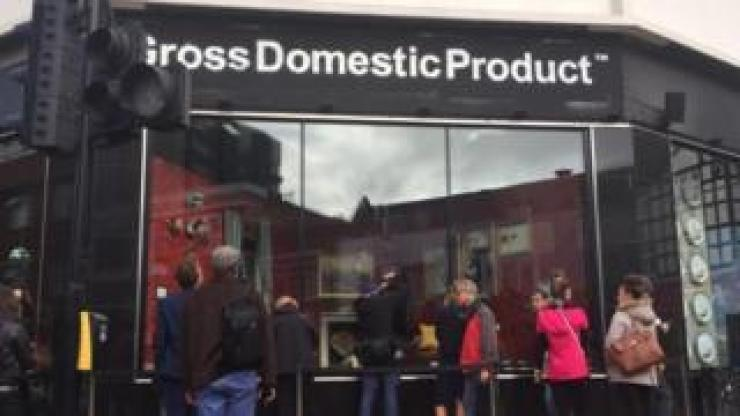 Gross Domestic Product exhibition