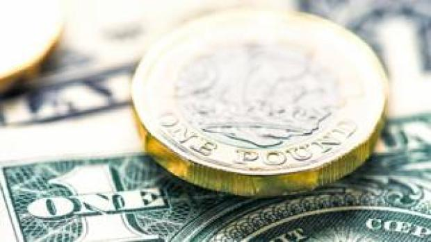 Pound and dollar currency