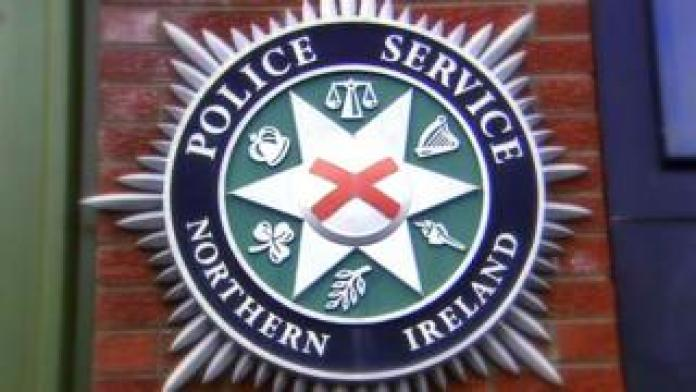 The coat of arms of the police service of Northern Ireland