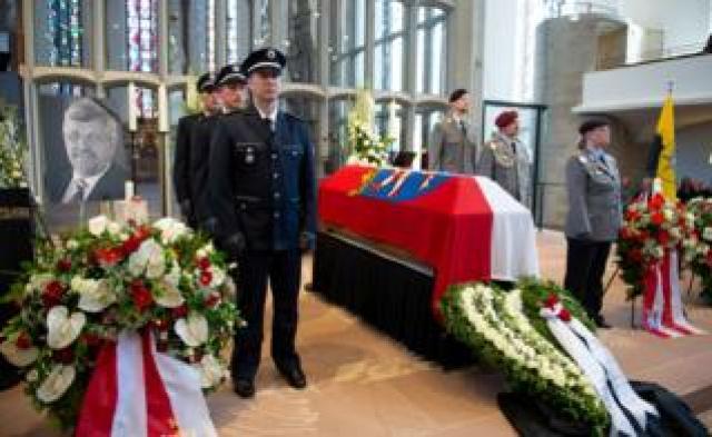 Lübcke funeral ceremony, 13 Jun 19