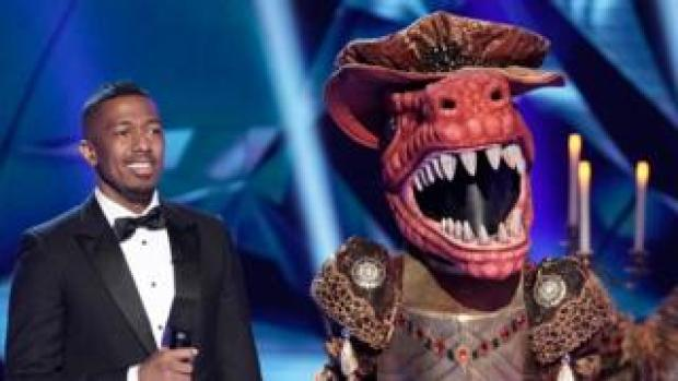 Nick Cannon on The Masked Singer