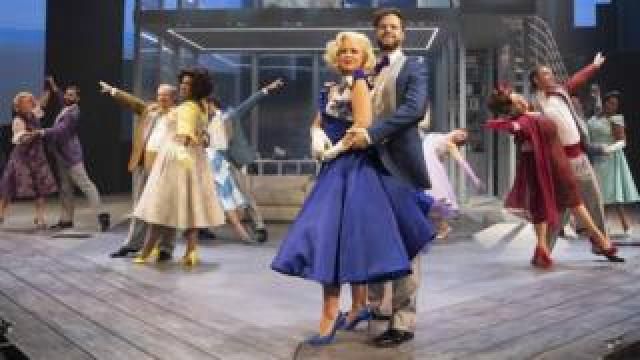 Kimberley Walsh and Jay McGuiness in Sleepless