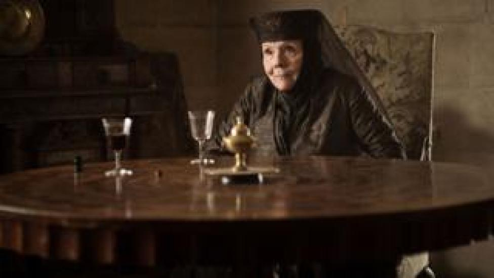 Rigg's last major recurring role came as the scheming Olenna Tyrell in the HBO fantasy epic drama, Game of Thrones in the 2010s.