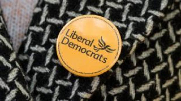 Lib Dem badge