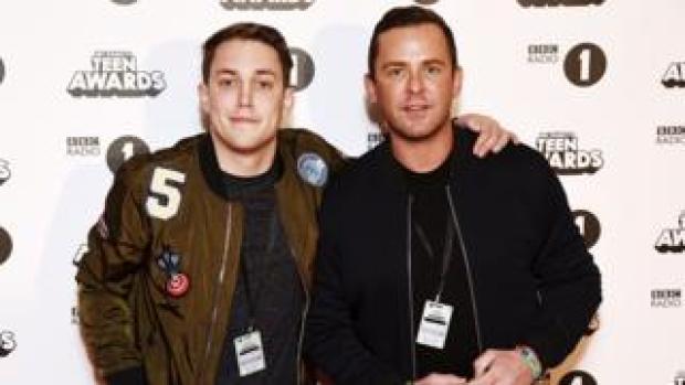 (L-R) Chris Stark and Scott Mills