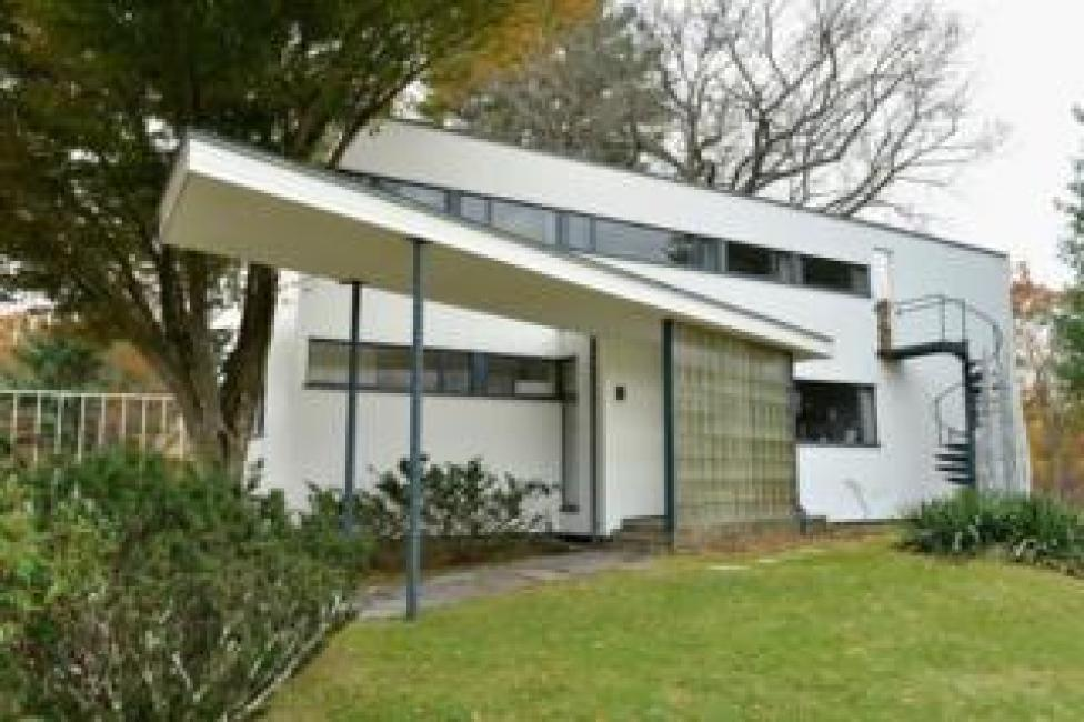 Exterior of Gropius House