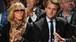 法國大選:認識新科第一夫人——碧姬·馬克龍 - BBC News 中文