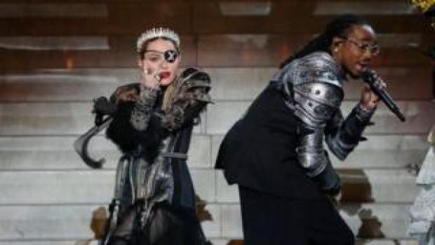 Madonna with Quavo
