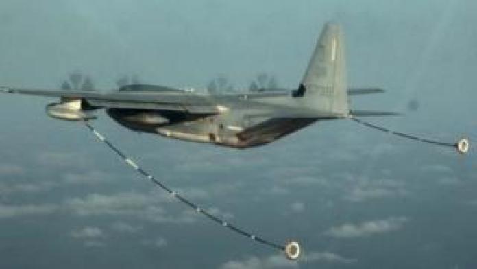 A KC-130 aircraft. File photo