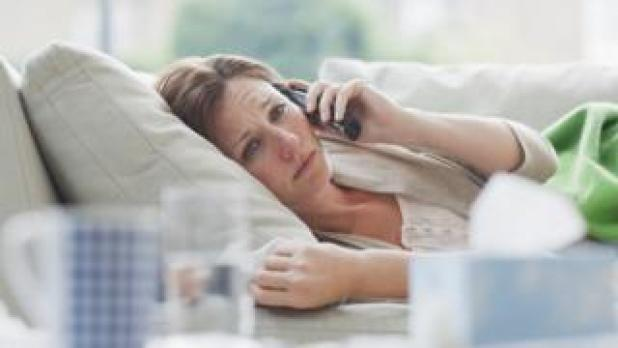 Generic picture of woman at home on a sick day  Coronavirus: How do you self-isolate successfully? – BBC News  110912015 gettyimages 107429753