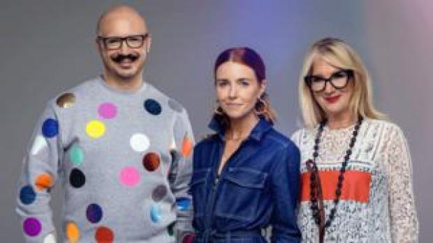 Dominic Skinner, Stacey Dooley and Val Garland