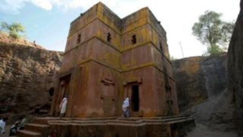 Rock-hewn churches at Lalibela