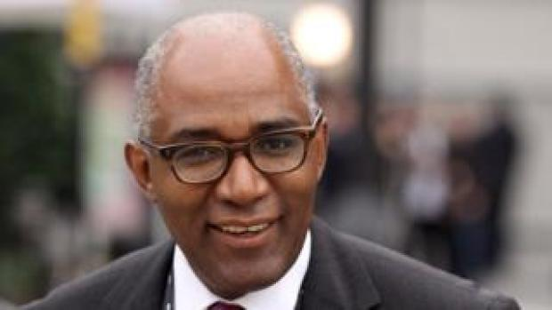 Trevor Phillips at the Labour party conference in 2010
